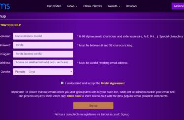 SoulCams ofera 300$ bonus de inregistrare modelelor noi de videochat