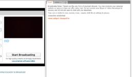 Setari webcam Chaturbate