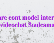 Creare cont model interpret videochat Soulcams