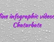 Online infographic videochat Chaturbate