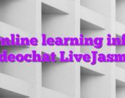 Online learning info videochat LiveJasmin