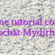 Online tutorial courses videochat Mydirhobby