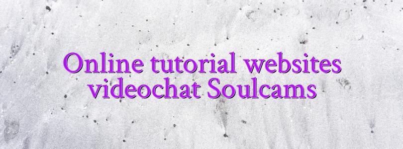 Online tutorial websites videochat Soulcams