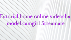 Tutorial home online videochat model camgirl Streamate