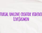 Tutorial online creator videochat LiveJasmin