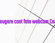 Adaugare cont fata webcam Cam4