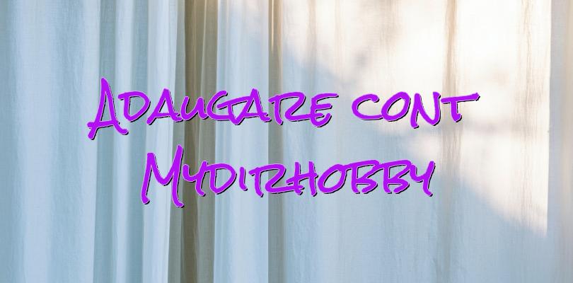 Adaugare cont Mydirhobby