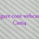 Adaugare cont webcam girl Cam4