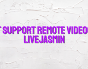 Chat support remote videochat LiveJasmin