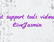 Chat support tools videochat LiveJasmin