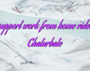 Chat support work from home videochat Chaturbate