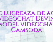 Cine lucreaza de acasa ? videochat Devino model videochat Camsoda