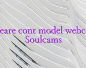 Creare cont model webcam Soulcams