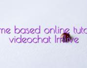 Home based online tutorial videochat Imlive