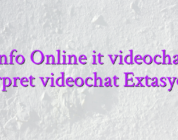 Info Online it videochat interpret videochat Extasycams
