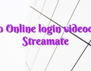 Info Online login videochat Streamate