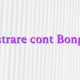 Inregistrare cont Bongacams