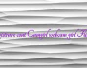 Inregistrare cont Camgirl webcam girl Flirt4free