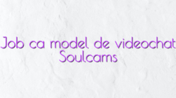 Job ca model de videochat Soulcams