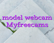 model webcam Myfreecams