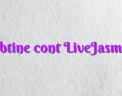 Obtine cont LiveJasmin