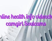 Online health info videochat camgirl Soulcams