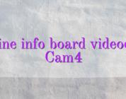Online info board videochat Cam4