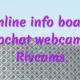 Online info board videochat webcam girl Rivcams