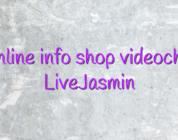 Online info shop videochat LiveJasmin