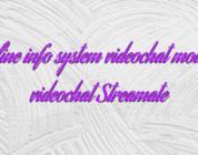 Online info system videochat model videochat Streamate