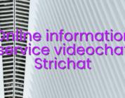 Online information service videochat Strichat