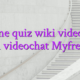 Online quiz wiki videochat model videochat Myfreecams
