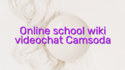 Online school wiki videochat Camsoda