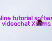 Online tutorial software videochat Xcams