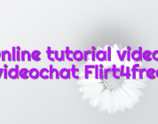 Online tutorial videos videochat Flirt4free