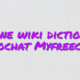 Online wiki dictionary videochat Myfreecams