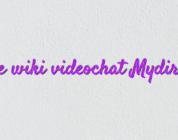 Online wiki videochat Mydirhobby