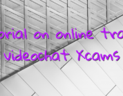 Tutorial on online trading videochat Xcams