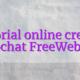 Tutorial online creator videochat FreeWebcams