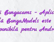 Stiri Bongacams – Aplicația mobilă BongaModels este acum disponibilă pentru Android!
