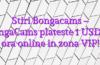 Stiri Bongacams – BongaCams plateste 1 USD pe ora online in zona VIP!