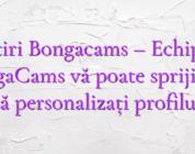 Stiri Bongacams – Echipa BongaCams vă poate sprijini să vă personalizați profilul!