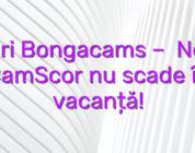 Stiri Bongacams –   Nou!  CamScor nu scade în vacanță!