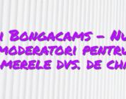 Stiri Bongacams – Numiți moderatori pentru camerele dvs. de chat!