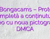 Stiri Bongacams – Protecție completă a conținutului video cu noua pictogramă DMCA