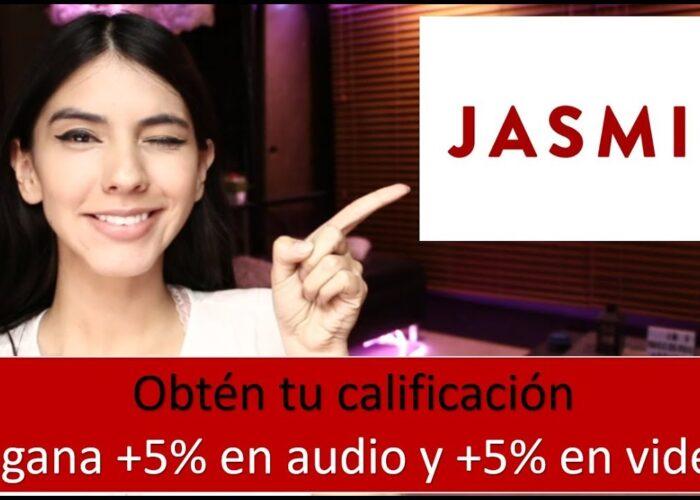 LIVEJASMIN  Obțineți scorul dvs. în audio și video și câștigați + 5%