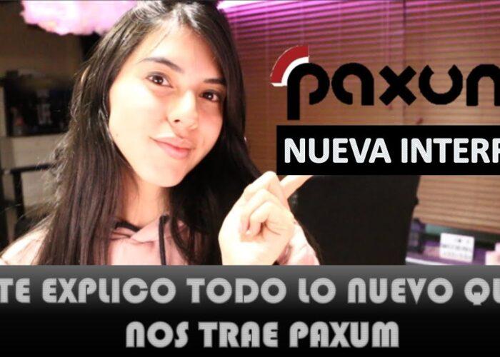 PAXUM  -Explic noua interfață – pas cu pas