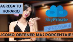 SkyPrivate  Cum obțin un procentaj mai mare?  EDITAȚI-VĂ PROGRAMUL ȘI PROFILUL.