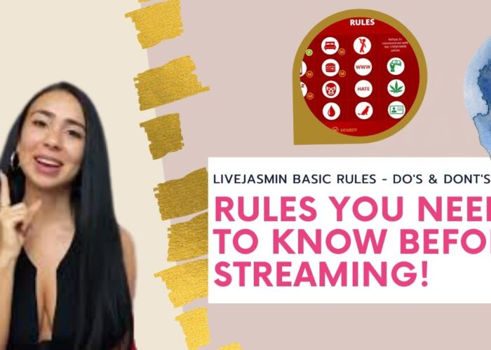 Model Cam |  Reguli de bază și sfaturi pentru Live Jasmin 2020!
