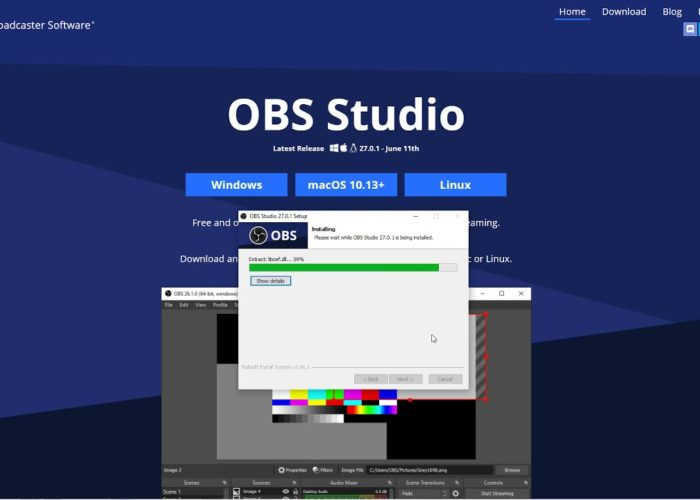 Instalare OBS pentru videochat